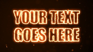 Your Text Is On Fire