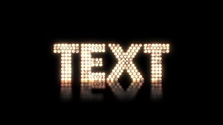 Light-Up Text
