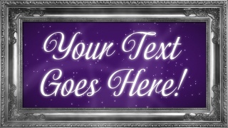 Picture Frame Text