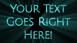 Light Ray Text