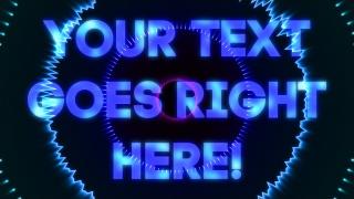 Audiowave Text