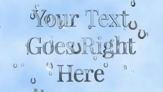 Lucky Horseshoe Text