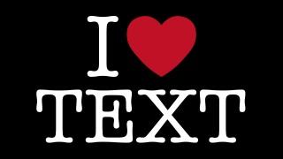 I Heart Text
