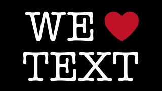 We Heart Text
