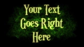 Ghostly Apparition Text