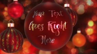 Bauble Text